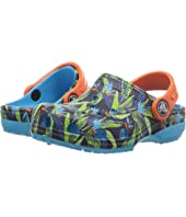 Crocs Kids Classic Tropical Clog (Toddler/Little Kid)