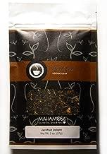 Mahamosa Jackfruit Delight Tea 2 oz - Flavored Black and Green Tea Blend Loose Leaf (with black tea, green tea, orange peels, flavoring, rose petals, safflowers, marigold petals)