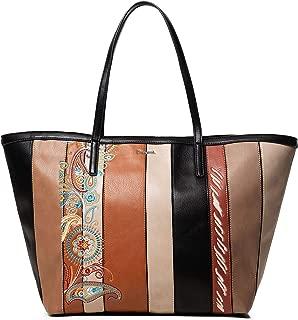 Luxury Fashion   Desigual Womens 19WAXP60BROWN Brown Tote   Fall Winter 19