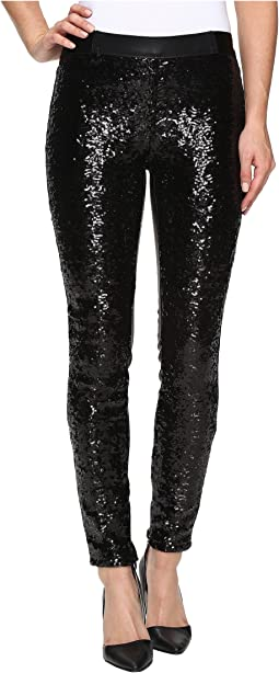 Sequin Pull-On Skinny in Shape Shifter