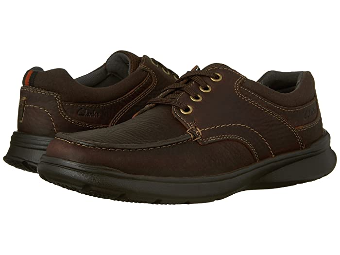 Clarks  Cotrell Edge (Brown Oily Leather) Mens Shoes
