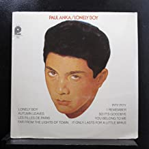 Paul Anka - Lonely Boy - Lp Vinyl Record