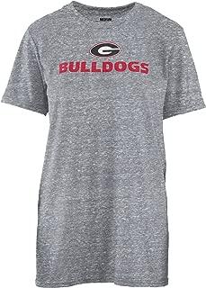 Pressbox Georgia Bulldogs Women's Desiree Oversized Knobi Tee