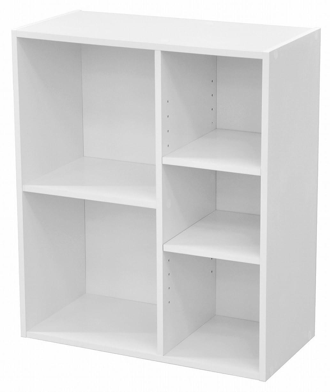 貪欲変成器ジャーナルエイ?アイ?エス (AIS) カラーボックス ホワイト 60x29.2x70.5cm HKHB-09 WH
