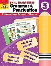 Evan-Moor Skill Sharpeners Grammar and Punctuation Grade 3, Full-Color Activity Book - Supplemental Homeschool Workbook