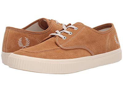 Fred Perry Ealing Low Suede (Brown Sugar/Natural) Men
