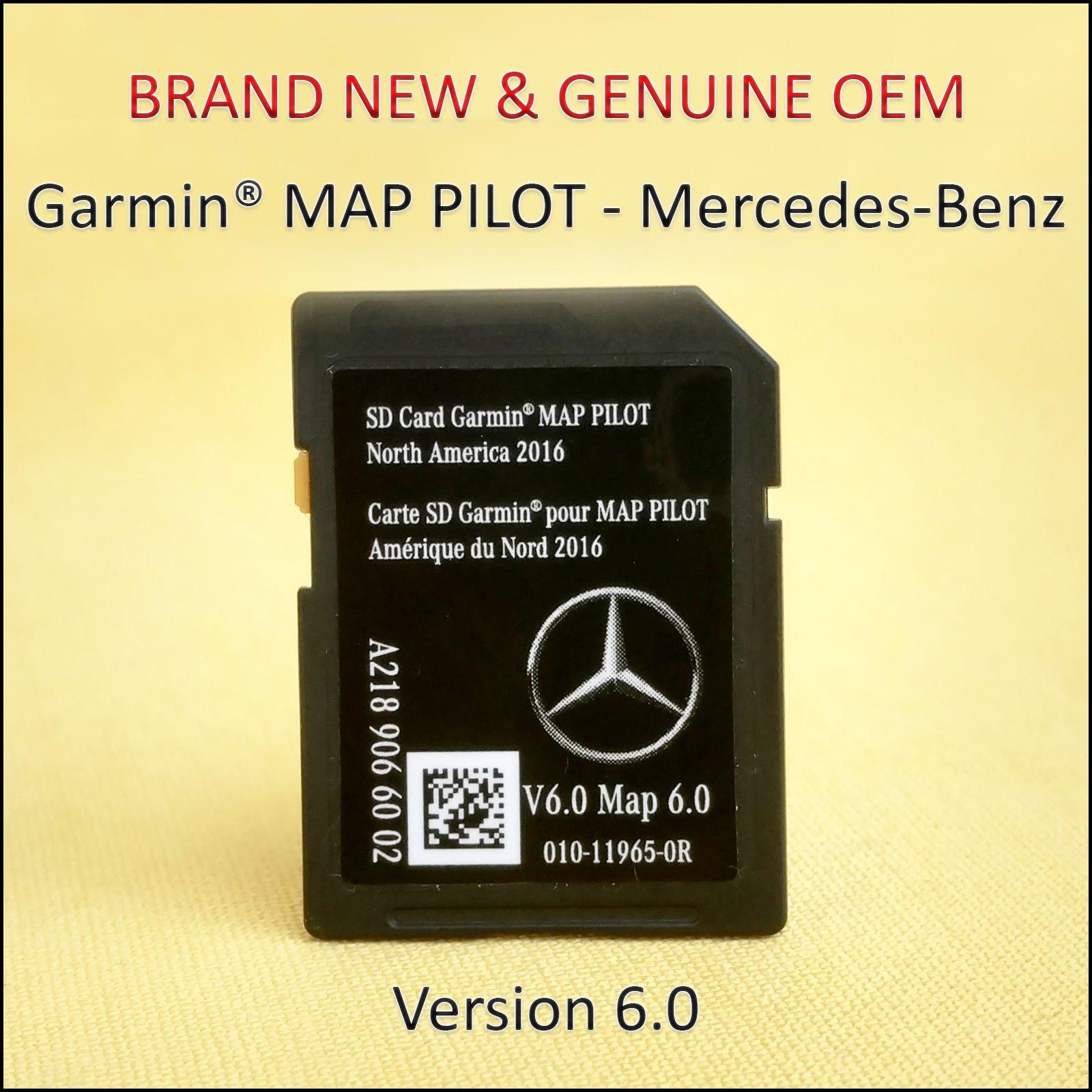 Mercedes-Benz - Sistema de navegación para Mercedes-Benz 2014 2015 2016 2017, tarjeta SD, chip de mapa, GPS CLA CLS GLA Clase E, OEM: Amazon.es: Electrónica