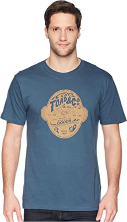 Toad&Co Brewed For Adventure Short Sleeve Tee