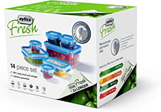 Zyliss E981045U Fresh 14 Pc Food Storage Set, Piece, Clear