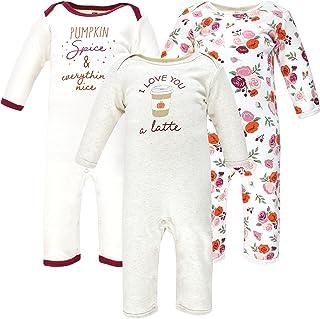 Hudson Baby Kombinezon dziecięcy Uniseks - niemowlęta Hudson Baby Unisex Baby Cotton Coveralls, Pumpkin Spice