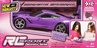 New Bright RC scale 1:24 Sports Pink Car (2423G-NB)