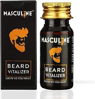 MASCULINE THE GENTLEMEN CHOICE Beard Vitalizer For Beard Growth/Nourishment, 30 ml