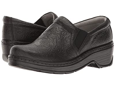 Klogs Footwear Naples (Black Tooled Leather) Women