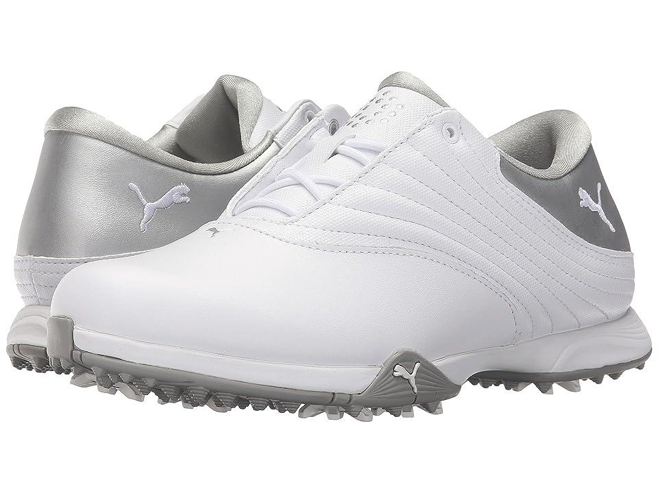 PUMA Golf Blaze (White/Puma Silver) Women