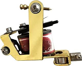 Premium Copper Wire Coils Tattoo Machine Liner & Shader, Gold Color, OTW-M105-2