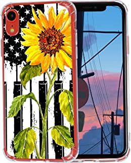 TADEY iPhone XR Case, Sunflower Piano Keyboard Case for iPho