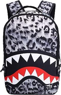 leopard print shark