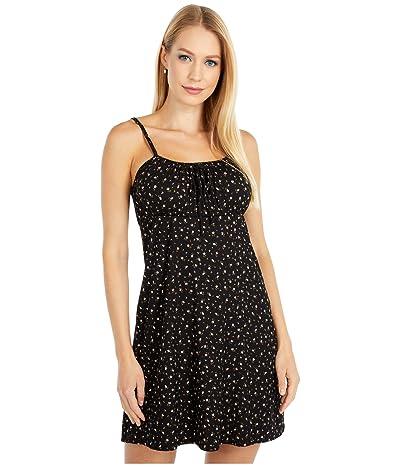 Billabong Flirt Much Dress (Black) Women