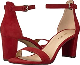 Ruby Red Isa Kid Suede