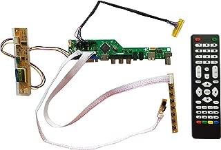 NJYTouch T.V56.031 HDMI USB AV VGA ATV LCD LVDS Controller Board for 14.1inch LTN141W3-L01 1280x800 CCFL