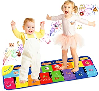 Dreamingbox Piano Mat for Kids, Floor Piano Mat for Kids Toy