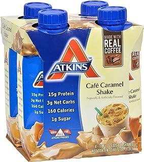 Atkins Advantage RTD Shake Cafe Caramel - 11 fl oz Each / Pack of 4