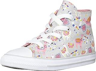 Converse Kids' Chuck Taylor All Star Llama Print High Top Sneaker