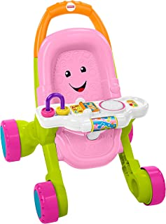 Fisher-Price Stroll & Learn Walker, Rosado