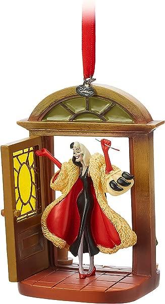 Disney Cruella Devil Sketchbook Ornament 101 Dalmatians