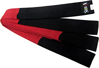 Shihan Karate, Martial Arts Belt BLACK/RED (Block) Belt 320cm