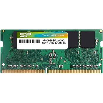 シリコンパワー ノートPC用メモリ DDR4-2133(PC4-17000) 8GB×1枚 260pin 1.2V CL15 永久保証 SP008GBSFU213B02