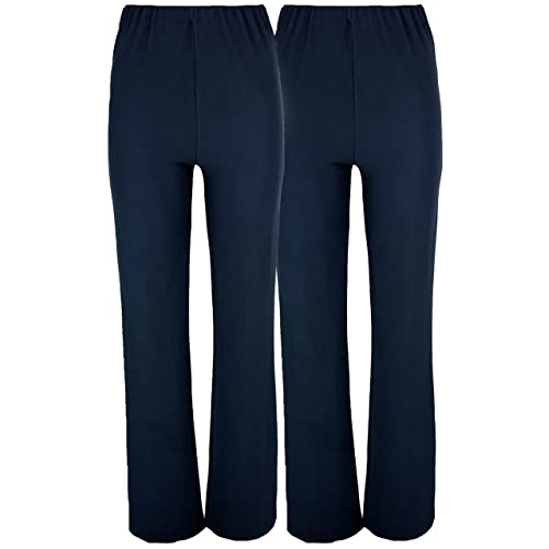 Ladies Navy Trousers Size 8 Women's Clothing Clothing, Shoes & Accessories