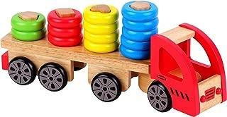 Discoveroo Wooden Sort 'n Stack Truck Playset