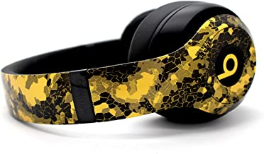 Beats by Dre Studio 3 Wireless Headphones - Custom Painted Dr. Dre Bluetooth - (Gold Hex)