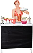 GoPong GoBar Portable High Top Party Bar, Includes 3 Skirt Designs and Carrying Case | Great for Parties, Tailgating and T...