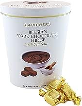 Gardiners of Scotland Belgian Dark Chocolate Fudge, Sea Salt, 10.7 Ounce