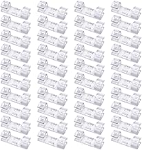 40 Pack Cable Clips, Viaky Strong 3M Adhesive Wire Holder Organizer Durable Cord Management System, for Organizing Cables ...