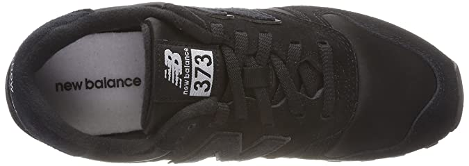 373 Trainers, Black (Black/Silver Mink