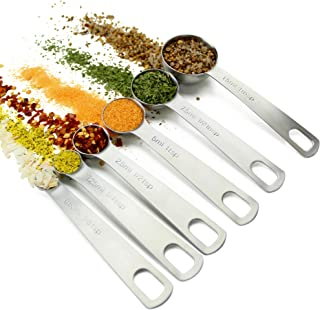 metric measuring spoons