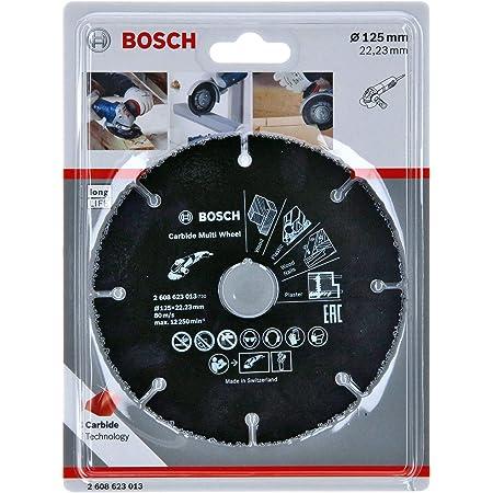 Bosch Professional Disque à tronçonner Multi Wheel (Ø 12mm, accessoires pour meuleuse angulaire)
