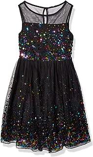 Girls' Sleeveless Sparkle Dress