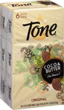 Tone Bath Bar Soap, Cocoa Butter, 4.25 Ounce, 6 Bars