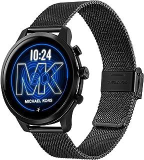 TRUMiRR Watchband for Michael Kors Access Gen 4 MKGO Women Men, Mesh Woven Stainless Steel Watch Band Quick Release Strap Wristband for Michael Kors Access Gen 5 Lexington Smartwatch