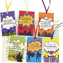 Marcapáginas para niños, estudiantes de lectura en casa, regalos para profesores, recompensas familiares, paquete de 24