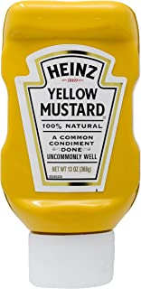 Heinz Yellow Mustard, 368g