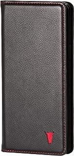 black leather iphone case
