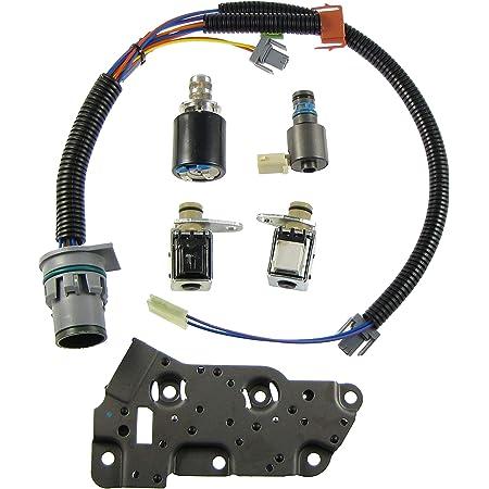 Amazon.com: Solenoid Kit 4L80E 85E Shift Solenoids EPC TCC and Wire  Harness: AutomotiveAmazon.com
