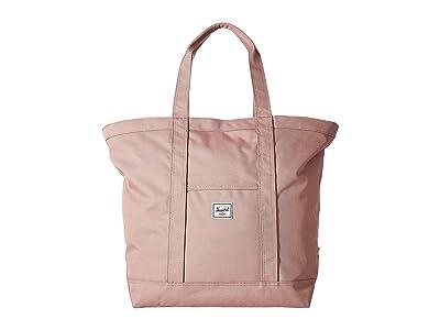 Herschel Supply Co. Bamfield Mid-Volume (Ash Rose) Tote Handbags