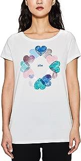 Camiseta para Mujer corazoneshttps://amzn.to/31fesc5