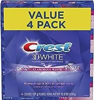 Crest 3D White Luxe Glamorous White Toothpaste, 3.5 oz Each